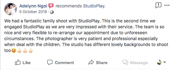 StudioPlay Facebook Reviews 13