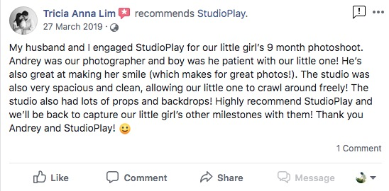 StudioPlay Facebook Reviews 33