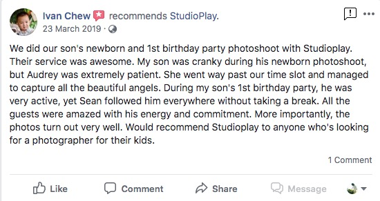 StudioPlay Facebook Reviews 35