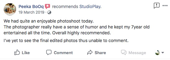 StudioPlay Facebook Reviews 36