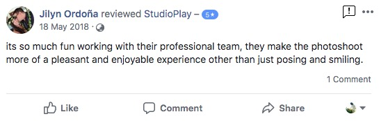 StudioPlay Facebook Reviews 53