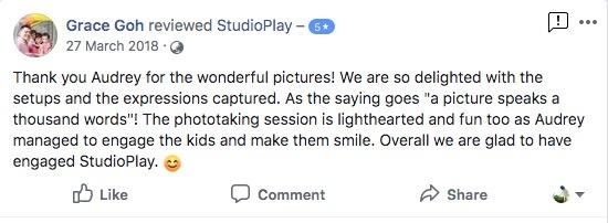 StudioPlay Facebook Reviews 56