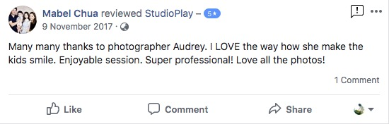 StudioPlay Facebook Reviews 58