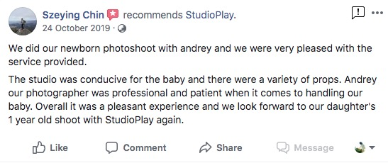 StudioPlay Facebook Reviews 8